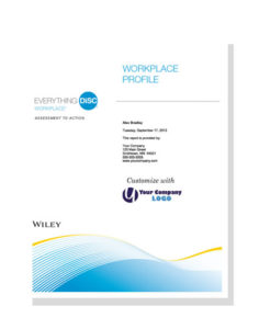 Everything DiSC Workplace Report