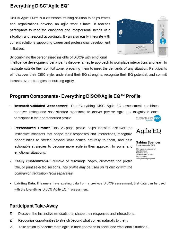 DiSC Agile