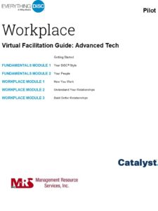 Facilitation Guide -DiSC Catalyst
